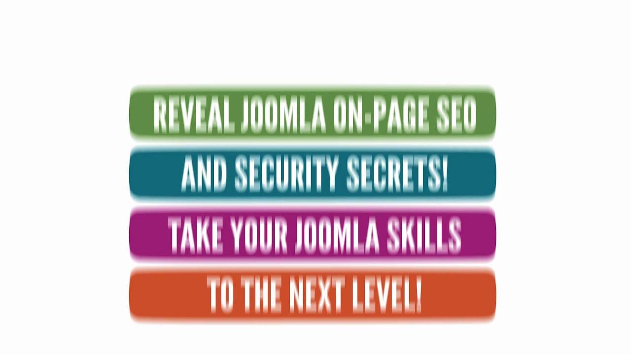 Learn How To Use Joomla CMS Like a Professional Web Designer ...