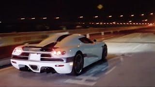 【辰巳PA】RWB軍団他 スーパーカー加速サウンド/ Supercars sound in Tatsumi. CCX, 599GTO, Diablo, and more