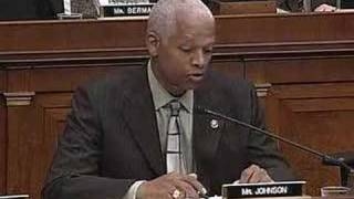 Rep. Hank Johnson Grills Attorney General Alberto Gonzales