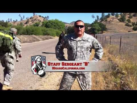 Special Forces Recruiter Staff Sergeant Brito @ SF Tryouts