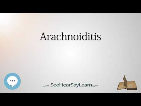 Arachnoiditis - Know