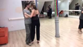 Уроки танго в Санкт-Петербурге, танго клуб Эдисса.