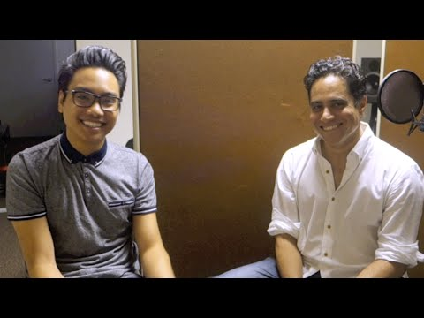 Interview with playwright RAJIV JOSEPH | Nicholas in the Nicholas Studio