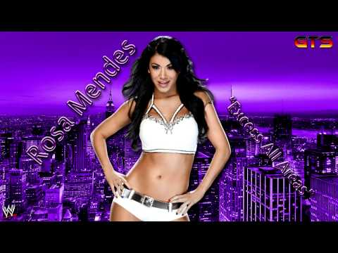 "2009: Rosa Mendes - WWE Theme Song - ""Excess All Areas"" [Download] [HD]"