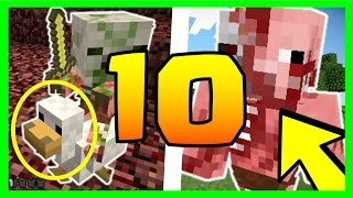 DID YOU KNOW ? 10 SECRETS ABOUT THE ZOMBIE PIGMEN MINECRAFT