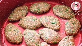 كفتة البطاطس التركية أحلى واطيب  اكلة ممكن تعملوها على الغداء باسهل طريقة كفتة ازمير كباب بطاطا