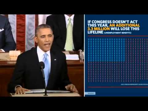 Obama's State Of The Union 2014- Full Speech - Enhanced Video