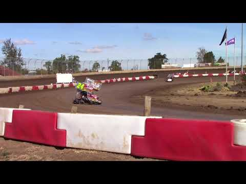 Willamette Speedway, OR - Caged Frenzy - 125cc Cage-Kart A Main Event - September 10, 2017