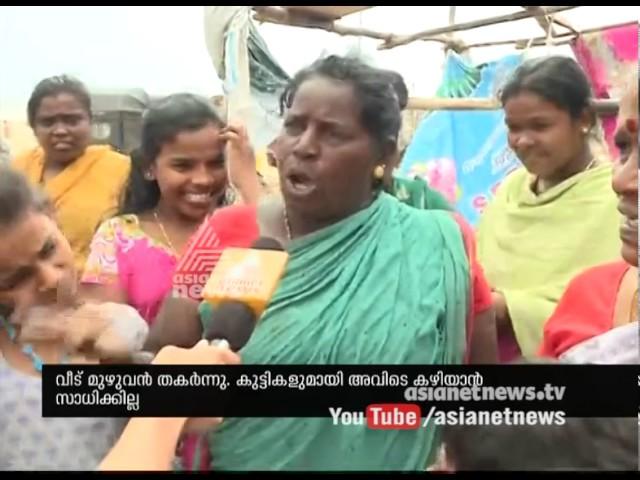 Cyclone Vardah created huge destruction; Natives responds