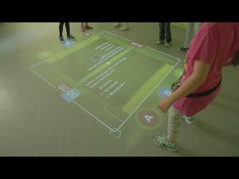 Interactive Floor Magic Carpet UAE Football (Quiz) Education