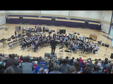 Chaska Middle School West 8th Grade Winter Band Concert 2018