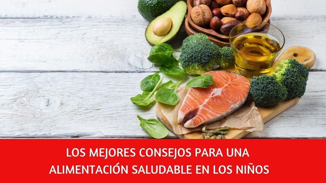 alimentacion saludable ninos primaria