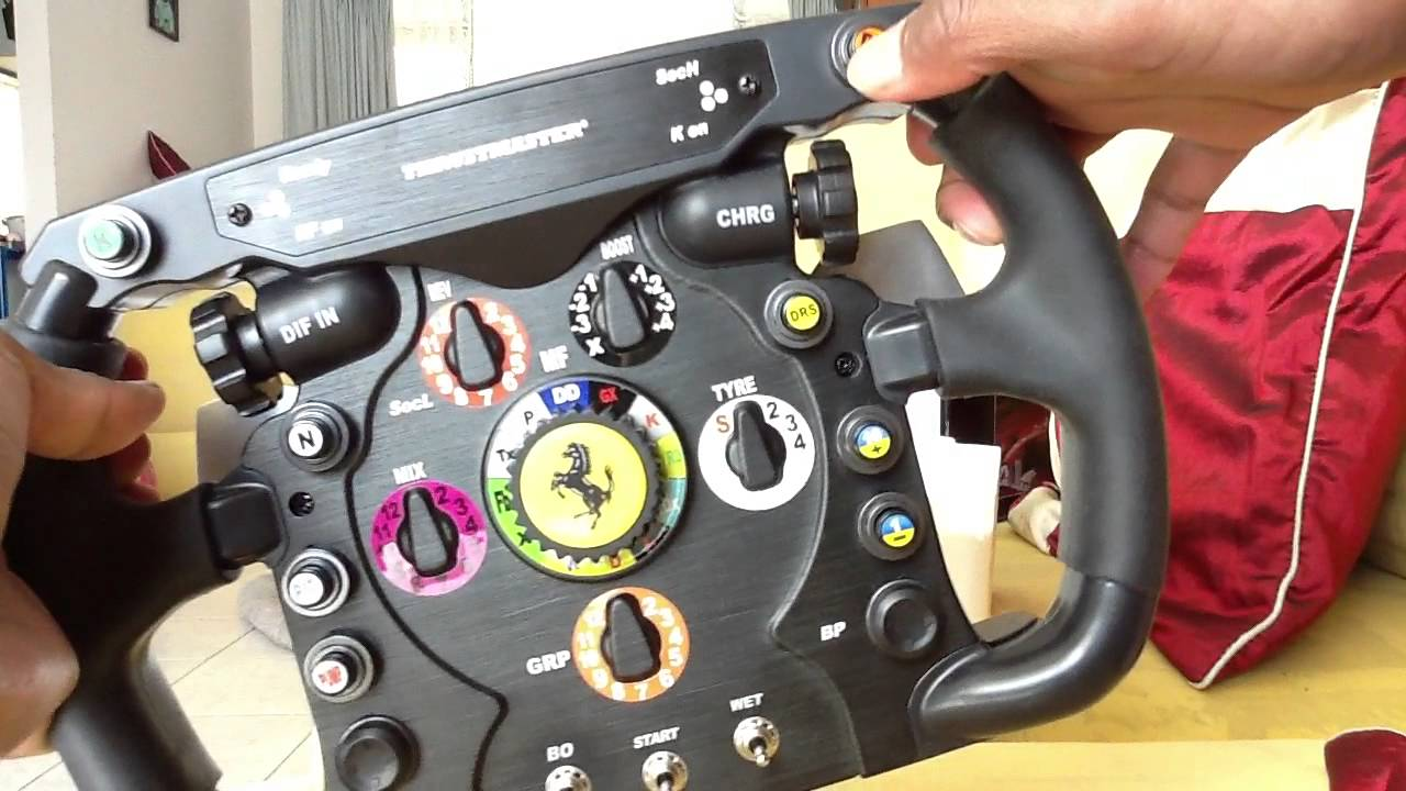 thrustmaster t500 rs ferrari f1 wheel add on youtube. Black Bedroom Furniture Sets. Home Design Ideas