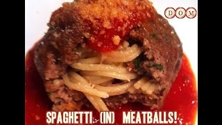 Spaghetti *in* Meatballs Recipe Inspired By Cloudy With A Chance Of Meatballs