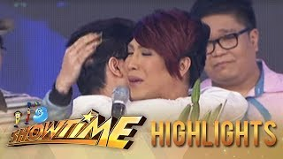It's Showtime: Vice welcomes Vhong and gives him a touching message