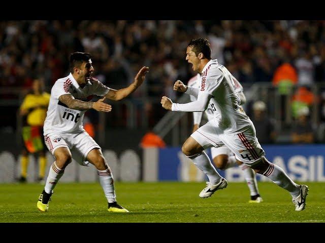 Gol de Anderson Martins - São Paulo 3 x 1 Corinthians - Narração de José Manoel de Barros