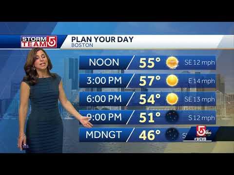 Video: Sunshine, warm temps
