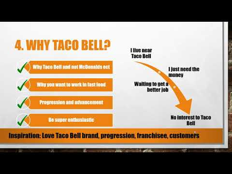 Top 5 Taco Bell Interview Questions And Answers