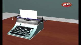 How does a Type Writer Work | How Stuff Works | How Devices Work in 3D | Science For Kids