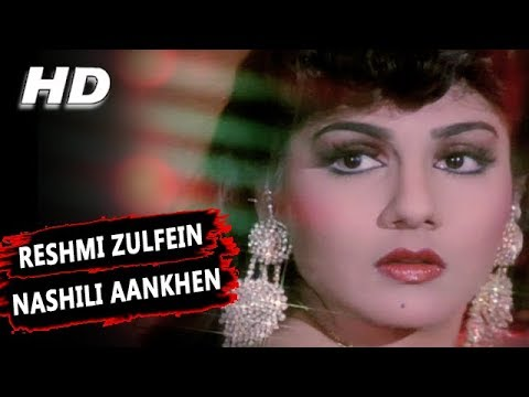 Reshmi Zulfein Nashili Aankhen | Abhijeet Bhattacharya | Indrajeet 1991 Songs | Amitabh Bachchan