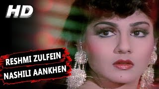 Video Reshmi Zulfein Nashili Aankhen | Abhijeet Bhattacharya | Indrajeet 1991 Songs | Amitabh Bachchan download MP3, 3GP, MP4, WEBM, AVI, FLV Agustus 2018