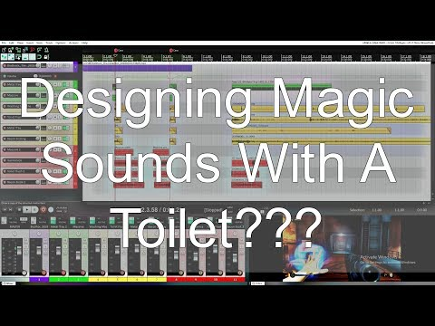 Designing Magic Sounds With A Toilet???