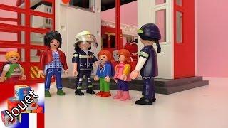 Film Playmobil la caserne de pompier français-excursion à la caserne de pompier