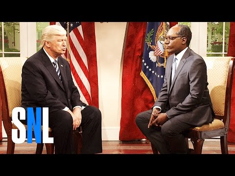 Lester Holt Cold Open - SNL