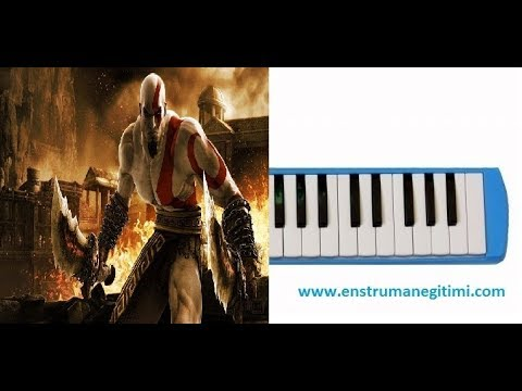 Melodika Eğitimi - God Of War 1 Music Menü Music Melodika