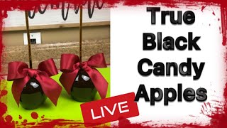 How To Achieve Black Candy Apples