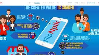 FlipNpik -  MONETIZE YOUR SOCIAL MEDIA POSTS