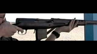 SVT-40 Slow Motion 10 rounds