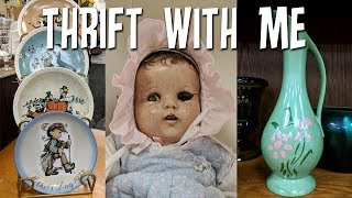 Thrift With Me-antiques+vintage Dolls-a To Z Thrift Shop Raleigh Nc