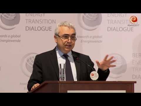 BETD 2017: IEA & IRENA: Perspective for the Energy Transition