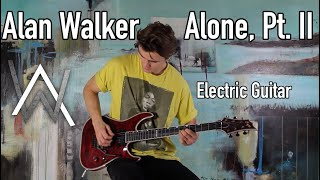 Gambar cover Alan Walker & Ava Max - Alone, Pt. II - Emotional Rock Cover
