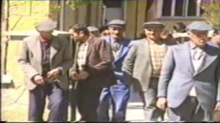 Çorum-Ortaköy 1986 - Cuma Namazı Çıkışı