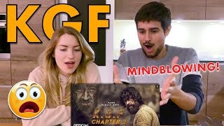 KGF Chapter2 TEASER REACTION | By Dhruv & Juli