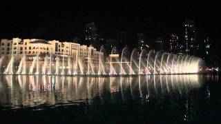 Dubai Fountain, Whitney Houston - I will always