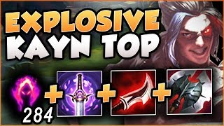3... 2... 1... DETONATE! EXPLOSIVE KAYN TOP IS ACTUALLY BUSTED! KAYN TOP GAMEPLAY! League of Legends