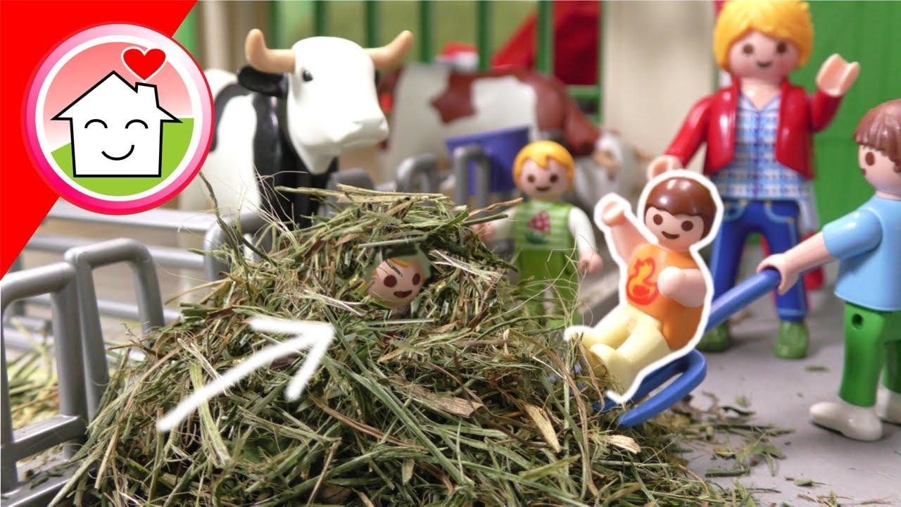 Playmobil Film Familie Hauser - Kita Ausflug auf den Bauernhof