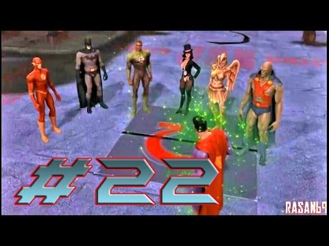 Justice League Heroes (PSP) walkthrough part 22 - YouTube
