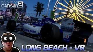 Long Beach in VR - Project CARS 2 German Gameplay [VR] [GER] Formula Renault 3.5
