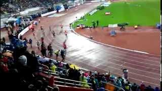 Usain Bolt - Zlatá tretra 2015 Ostrava - 20.13s