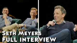 Seth Meyers talks Trump | Pod Save America live from Radio City Music Hall