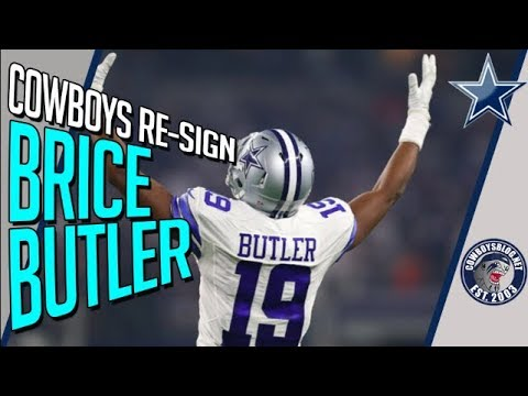 8cb3a966071 Brice Butler Returns, Did the Cowboys Misjudge WR Talent? - YouTube