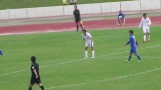 20131102Honda FC#9伊賀貴一2-2同点ゴール