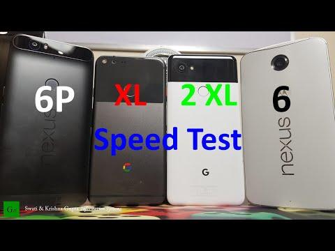 Pixel 2 xl vs Pixel vs Nexus 6P vs Nexus 6 Speed & Performance Test - 4 Generations of Google Phones