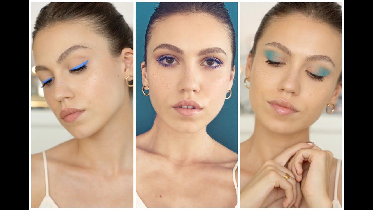 Su Mavisi Makyaj Nasıl Yapılır