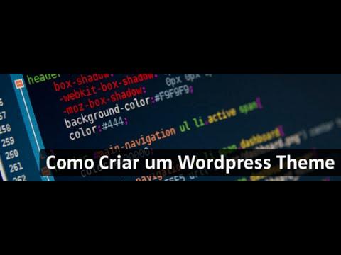 Criando um Tema de portal de notícias para WordPress – Parte1 - YouTube