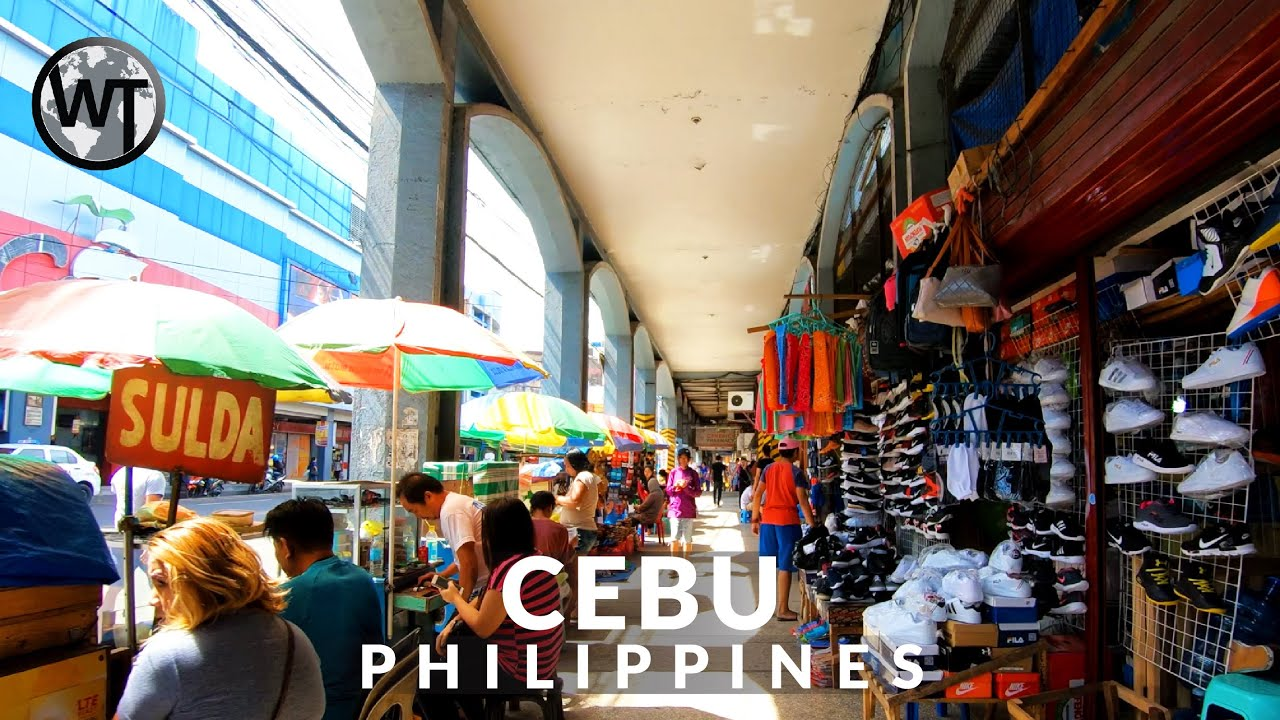 Download Downtown Cebu City - 🇵🇭 Philippines - 4K Walking Tour